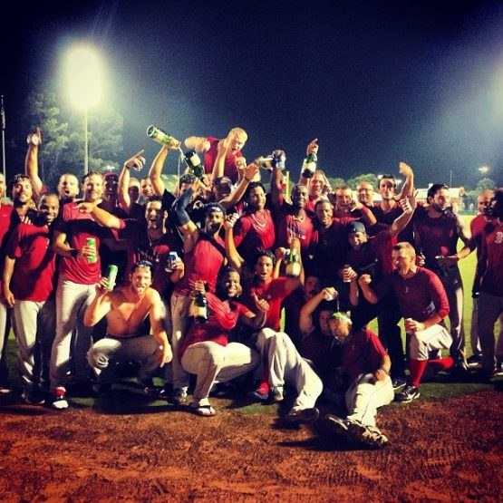Salem Sox celebration