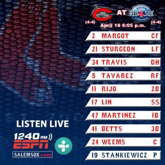 4-18 lineup
